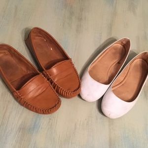 Two pairs of Old Navy Flats